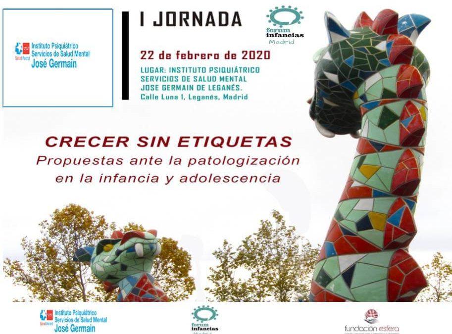I Jornada organizada por Forum Infancias: «Crecer sin etiquetas»