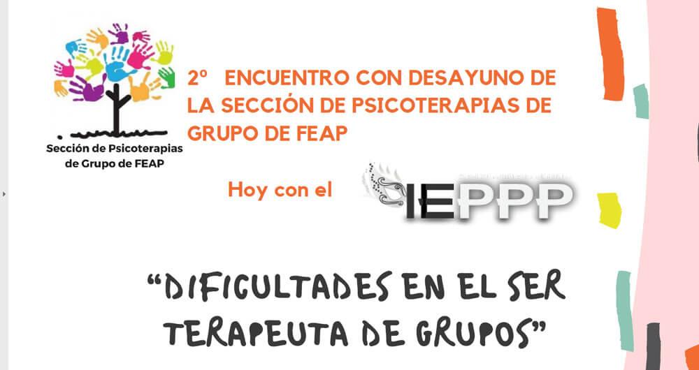 2º Encuentro con desayuno de la sección de Psicoterapia de Grupo de FEAP
